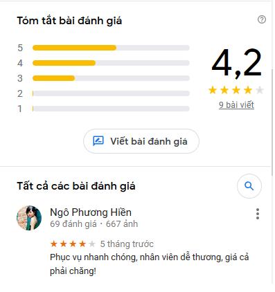 review quá vô nghĩa
