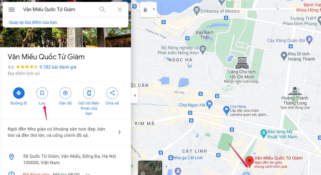 Viết bài review google map