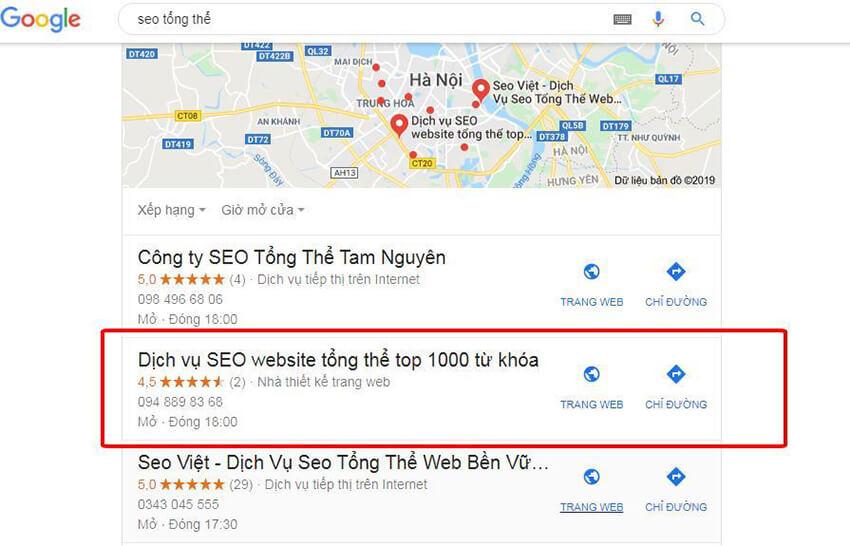 google map bị tạm ngưng